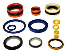 PU sealing parts for hydraulic machine